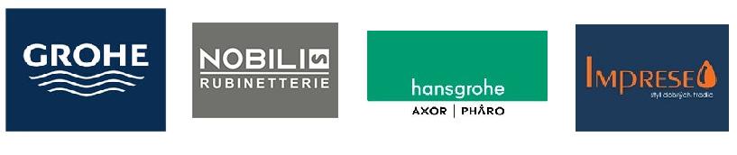 Логотипы брендов, представленных в магазине Warmeco
