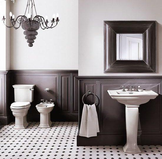 Devon&Devon Westminster в интерьере ванной комнаты